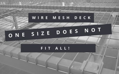 Wire Mesh Decks – One Size Does Not Fit All